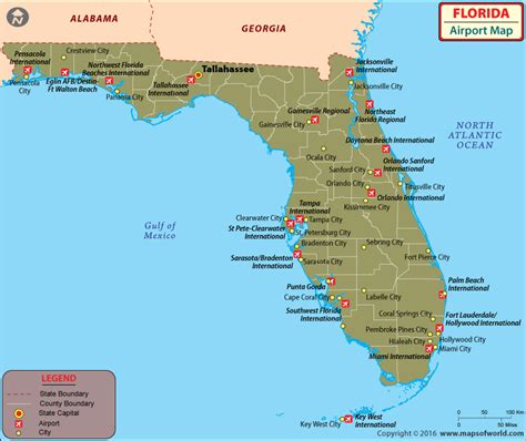 map of florida airports airports in florida florida airports map