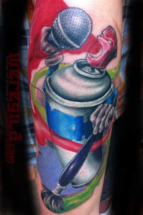 spray paint can tattoo designs graffiti images designs