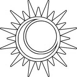 Free Sun Outline by Sun Outline Clip Clipart Best