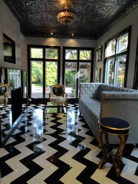 chevron living room 26 chevron home d 233 cor ideas that catch an eye shelterness