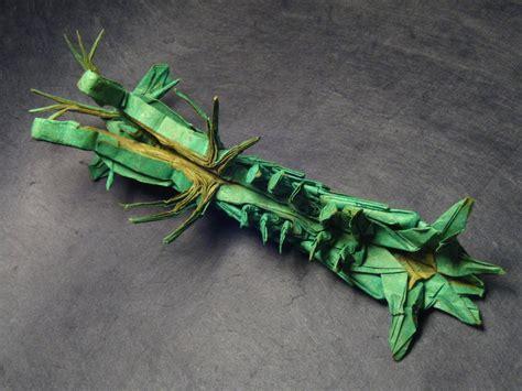 Origami Mantis - stomatopod
