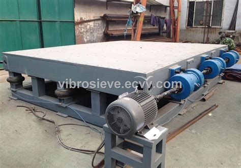 concrete vibrating table purchasing souring agent ecvv