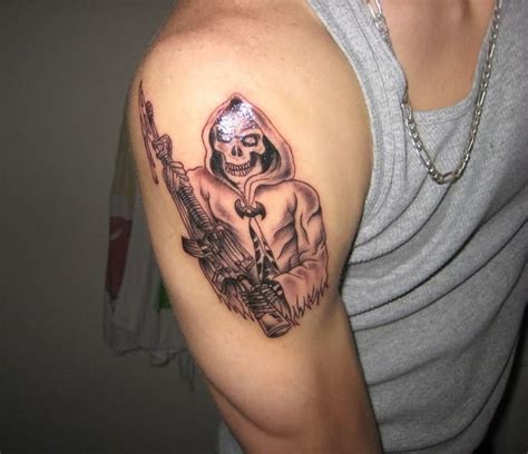 reaper tattoos for men grim reaper shoulder tattoos for 1 zili zili