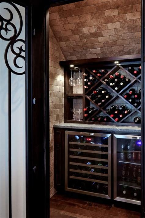 wine closet stairs for the home