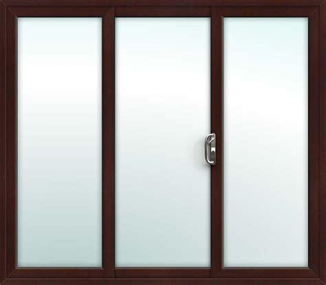 3 Door Patio Doors Rosewood Sliding Patio Doors 3 Pane Upvc
