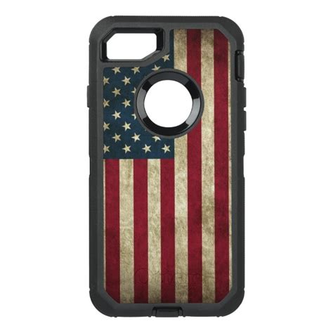 american flag otterbox defender iphone  case case