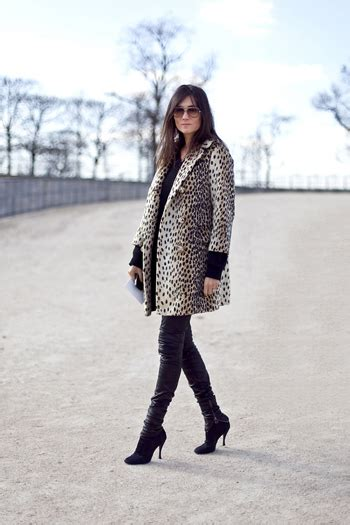 Bcbgmaxazarias Wool And Patent Leather Nea2 by Emmanuelle Alt 10 Fashion Editors With The Most Fabulous