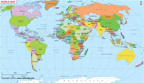 map countries world map with countries and cities poppy