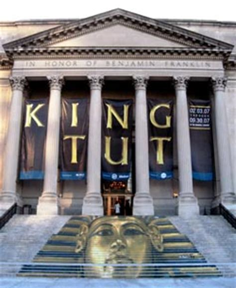 See Tut The Boy King In Philadelphia by King Tut Exhibit Study Reveals Influences On Visitor