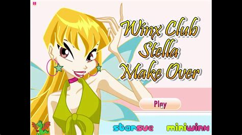 makeover games games for girls girl games club winx club stella makeover game winx club video games for