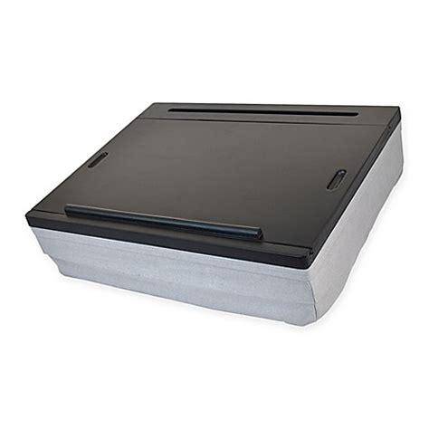 lap desk with storage lap desk in black grey bed bath beyond