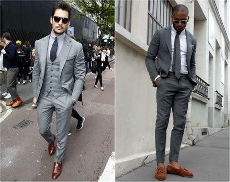 what color shoes to wear with grey suit semi formal for guys 18 best semi formal attire ideas