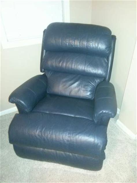 Navy Blue Recliner Lazy Boy Leather Recliner Navy Blue Nex Tech Classifieds