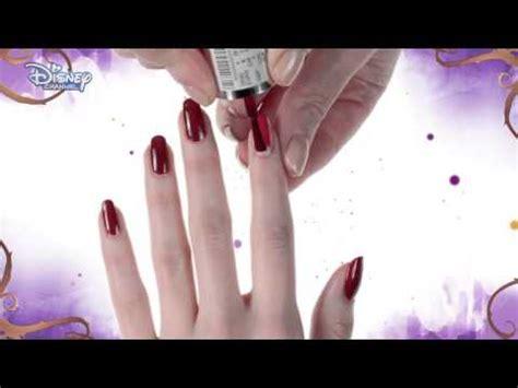 nail art tutorial disney channel disney descendants jay nail art tutorial official
