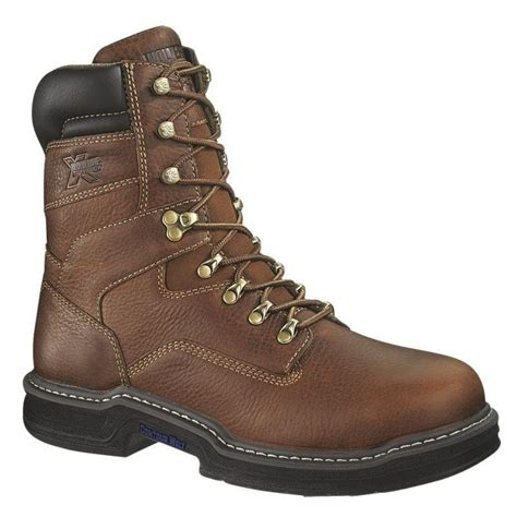 wolverine work boots for wolverine multishox steel toe 8 inch work boot 2423