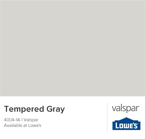 tempered gray from valspar home