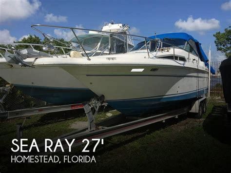 boats for sale homestead florida sold sea ray 270 sundancer boat in homestead fl 113915