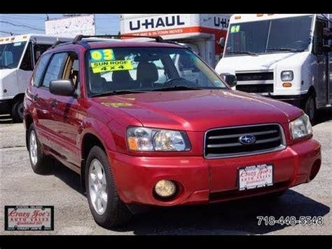 2003 Subaru Forester 2 5xs by 2003 Subaru Forester 2 5xs Awd