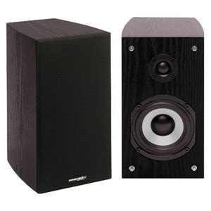 precision acoustics 2 way bookshelf speakers hd4 pair