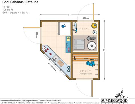 cabana floor plans equipment shed plans