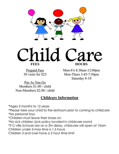 daycare flyers templates free daycare write my thesis articlessearchqu x fc2