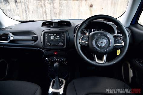 jeep renegade dashboard 2016 jeep renegade longitude review video performancedrive