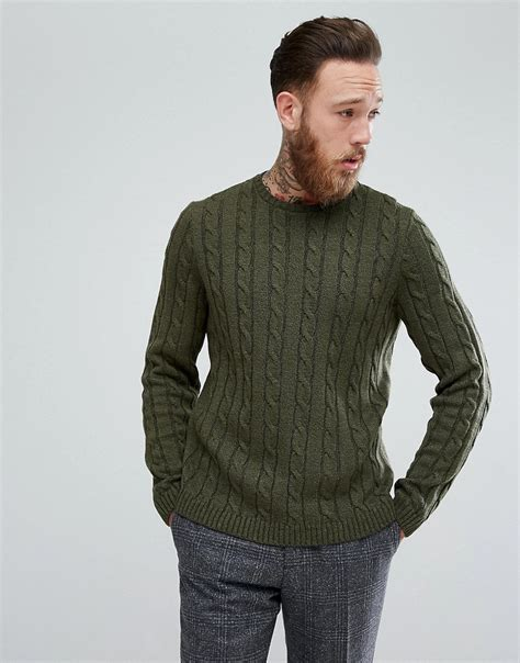 cable knit sweater mens s vintage style sweaters 1920s to 1960s
