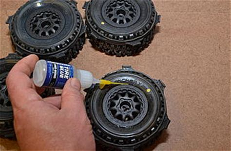 tire bead glue how to glue tires like a pro rc groups