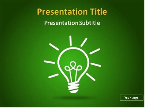 download free idea bulb powerpoint template 00 0002free