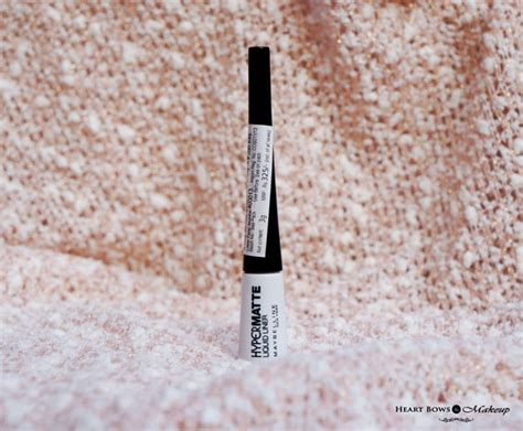 Maybelline Hyper Matte maybelline hyper matte liquid liner review swatches