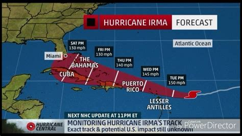 hurricane irma hit date hurricane irma hits in cuba and the bahamas