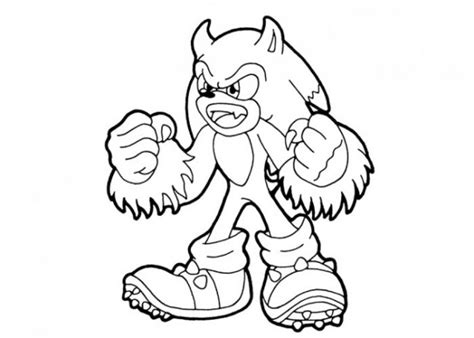sonic monster coloring page get this printable sonic coloring pages 952203