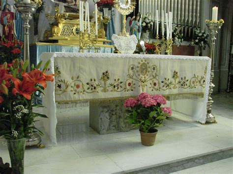 le candele palermo le candele palermo le tovaglie altare misure e storia i