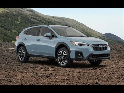 subaru eyesight package 2018 subaru crosstrek 2 0i limited build with eyesight