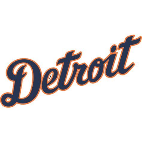 Softball Wall Stickers detroit tigers script logo decal sticker stk mlb det