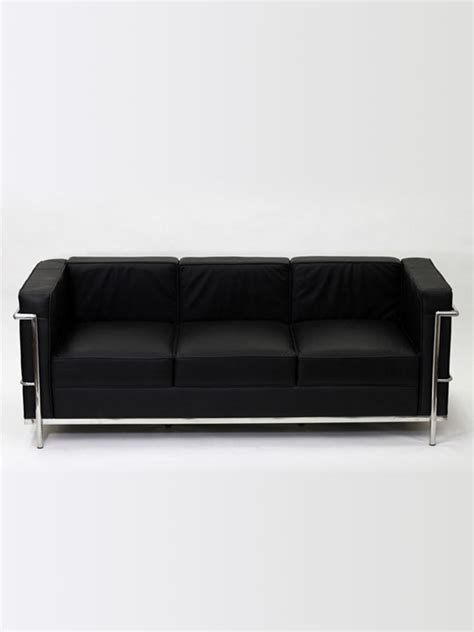 Simple Leather Sofa by Simple Medium Leather Sofa Modern Furniture Brickell