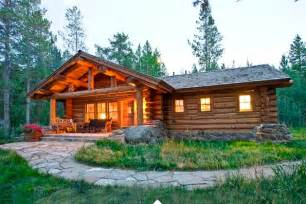 Log Cabin Kitchen Ideas Rustic Cottage A Relaxation Oasis In The Woods Home