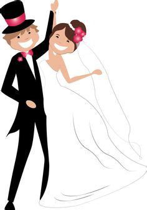 clipart matrimonio dibujos clipart digi sts wedding novios boda