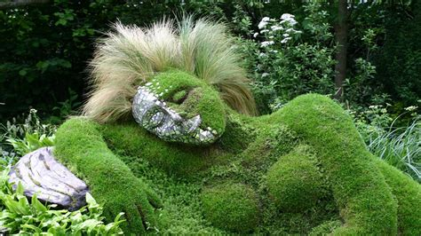 pictures of garden grass sculpture of beautiful gardens youtube