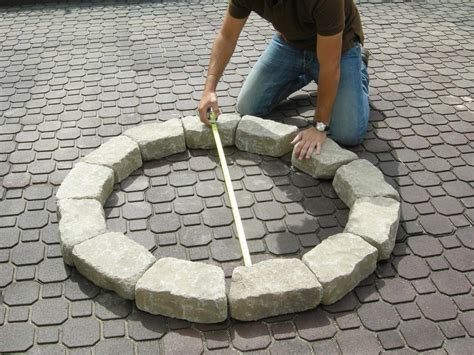 how to build a firepit with pavers how to make a backyard pit hgtv