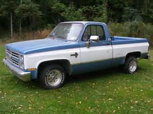 sell used 1985 chevy half ton bed in elba new york