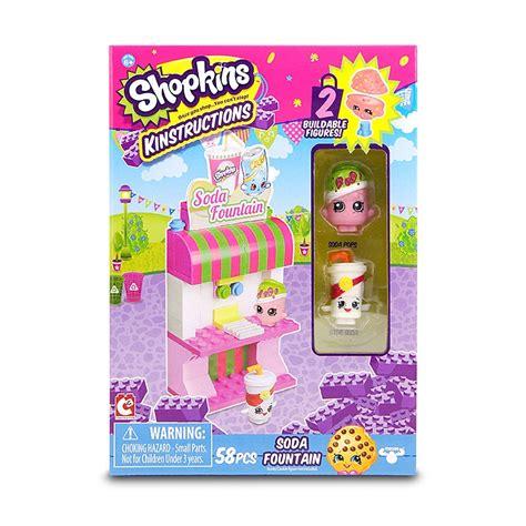 Shopkins Kinstructions Baby Shop 37326b shopkins sets de compras baby shop juguetron