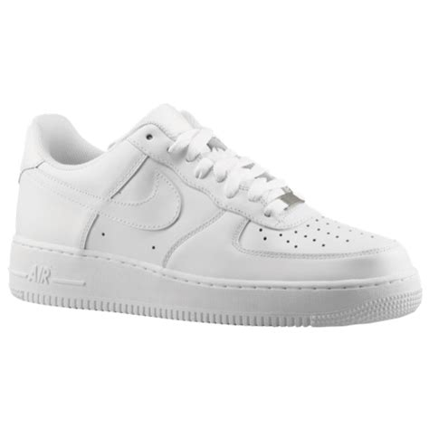 Nike Air Force 1 Low   Men's   Casual   Shoes   White/White