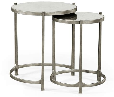Silver Side Table with Nesting Tables Silver Nesting Tables Silver Side Table Silver Side Tables Silver Side Table