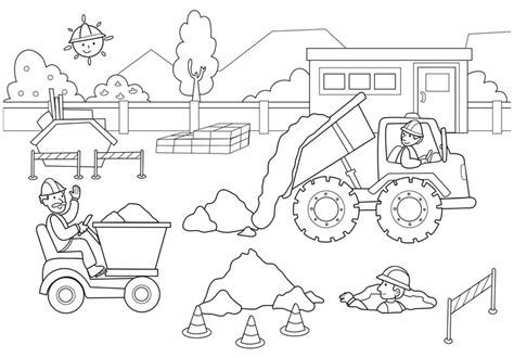 bulldozer construction coloring pages printable coloring pages