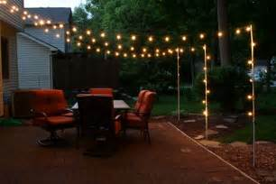 Diy Patio Lighting Diy Backyard And Patio Lighting Projects Best Home Design Ideas