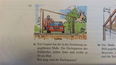 Was Sind Dachsparren by Wie Lange Sind Die Dachsparren Mathelounge