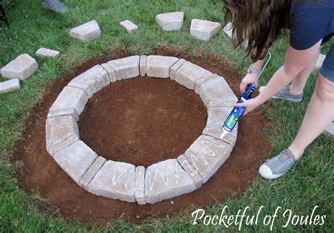easy diy pit kit pit diy kit rumble pavestone tips traditional