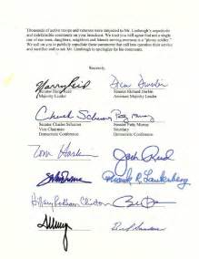 harry reid and the smear letter