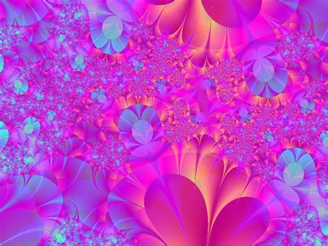 wallpaper pink and blue floral wallpaper pink and blue flowers wallpapersafari